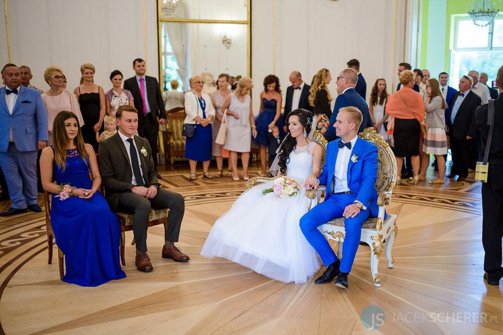 fotograf slubny warszawa 14 - Klaudia i Kamil   Ślub w Pałacu w Jabłonnie