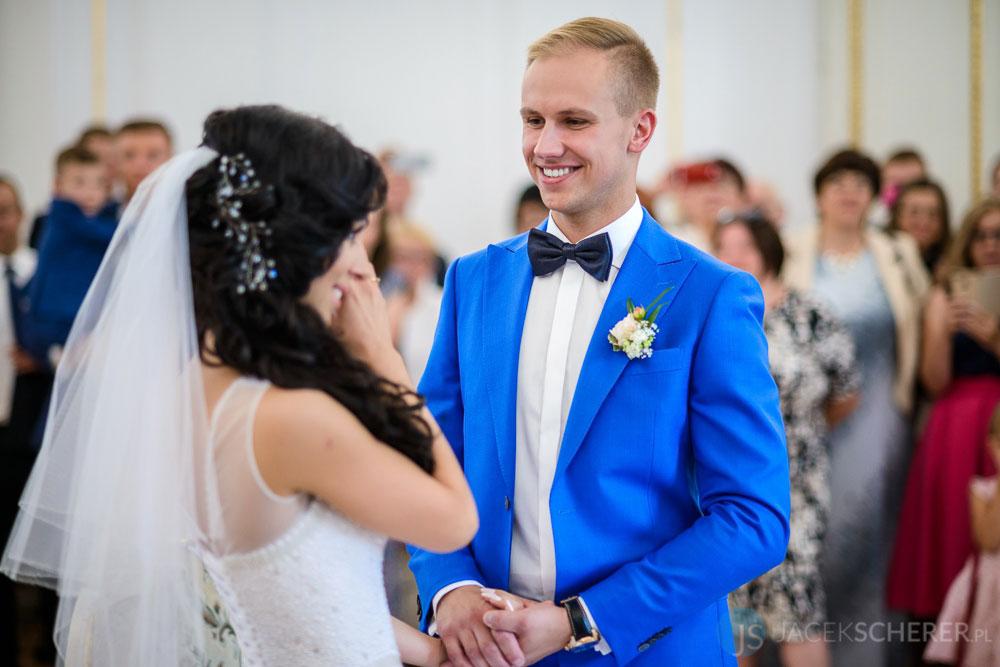 fotograf slubny warszawa 18 - Klaudia i Kamil   Ślub w Pałacu w Jabłonnie