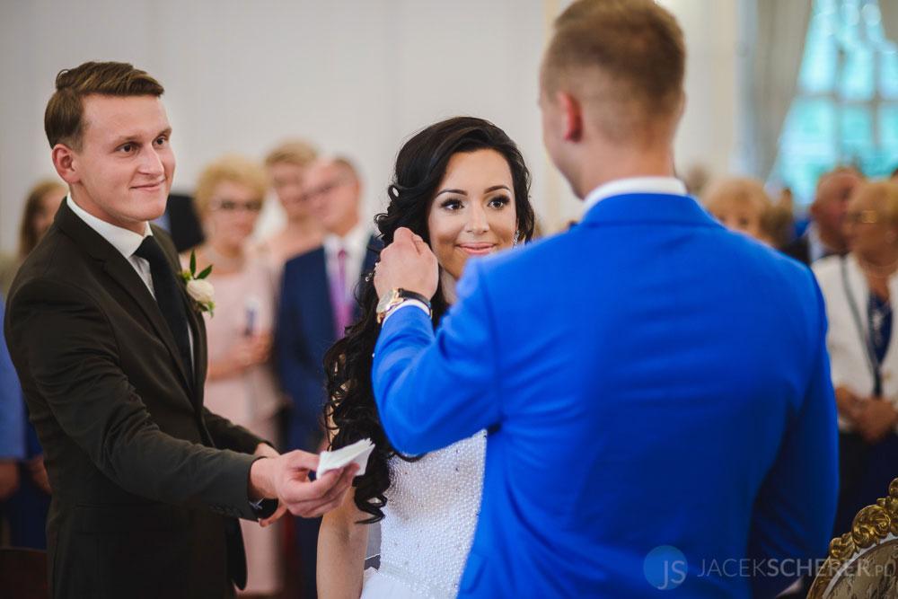 fotograf slubny warszawa 20 - Klaudia i Kamil   Ślub w Pałacu w Jabłonnie