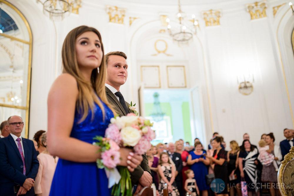 fotograf slubny warszawa 21 - Klaudia i Kamil   Ślub w Pałacu w Jabłonnie