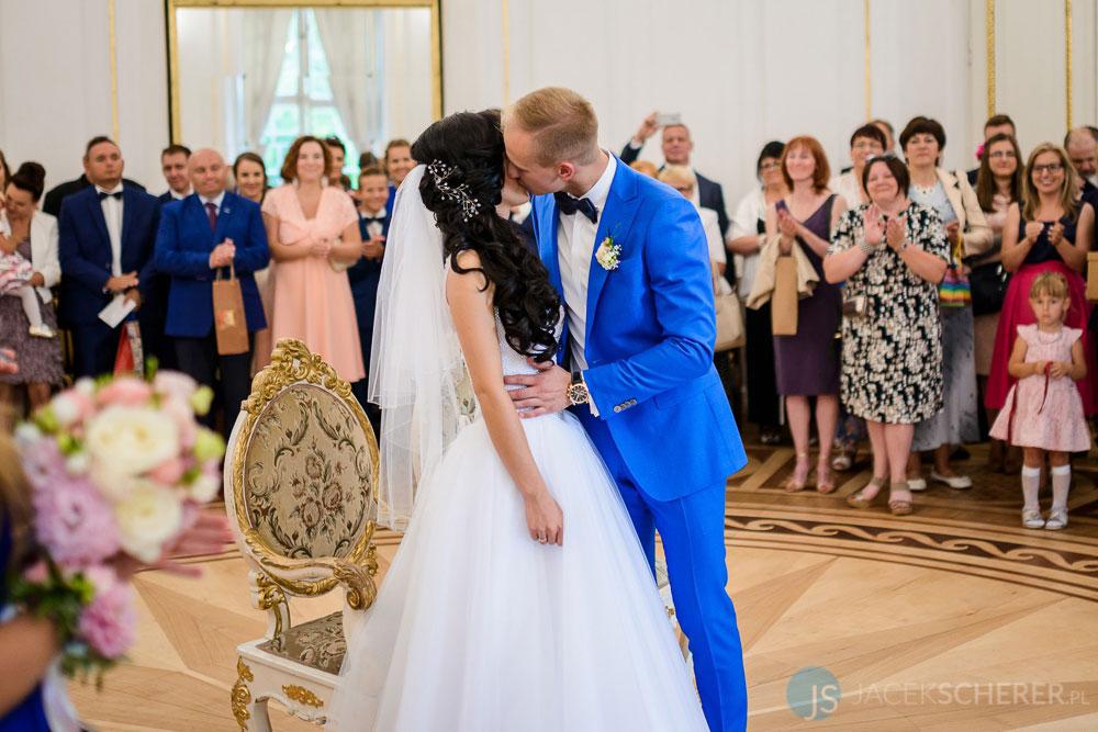 fotograf slubny warszawa 23 - Klaudia i Kamil   Ślub w Pałacu w Jabłonnie