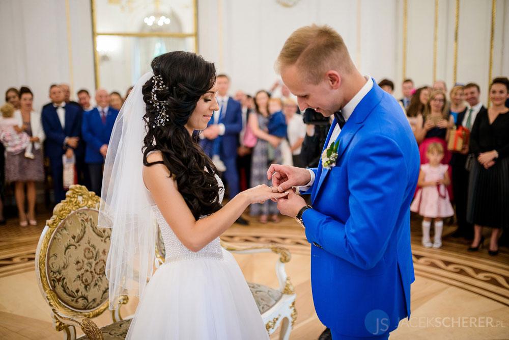 fotograf slubny warszawa 26 - Klaudia i Kamil   Ślub w Pałacu w Jabłonnie