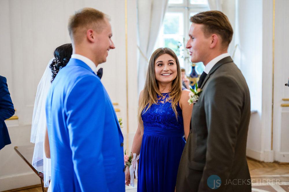 fotograf slubny warszawa 29 - Klaudia i Kamil   Ślub w Pałacu w Jabłonnie