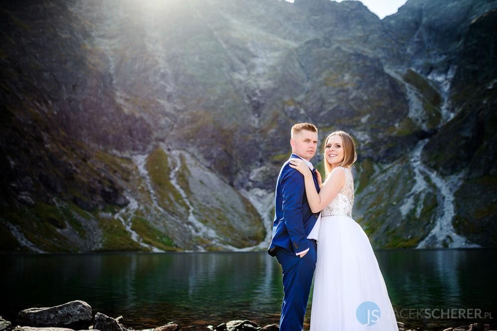 plener slubny tatry 03 2 - Ewelina i Mariusz | Morskie Oko