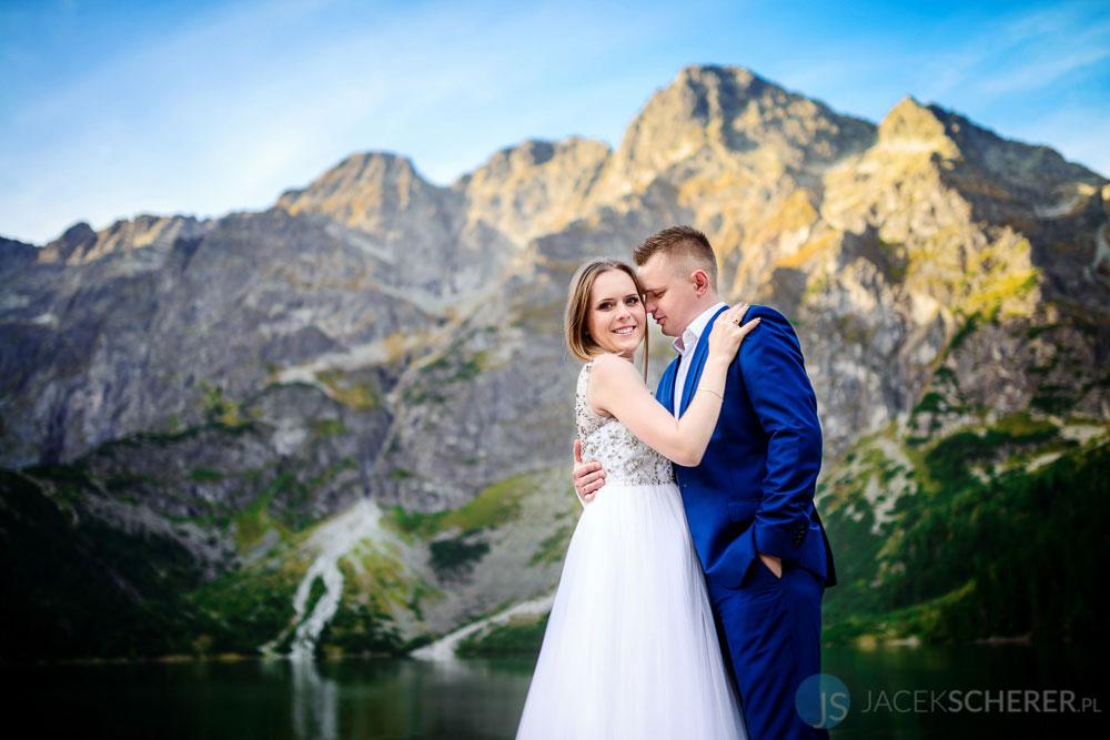 plener slubny tatry 06 3 - Ewelina i Mariusz | Morskie Oko