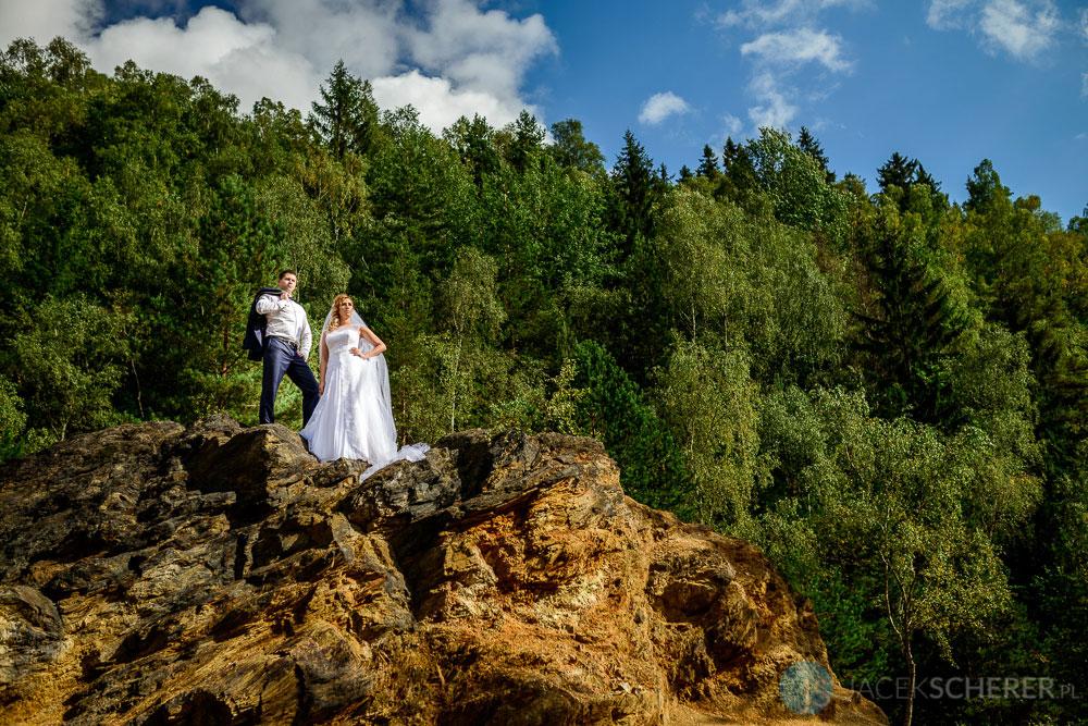 fotograf slubny lublin 092 1 - Gosia i Łukasz | Mumlavský vodopád