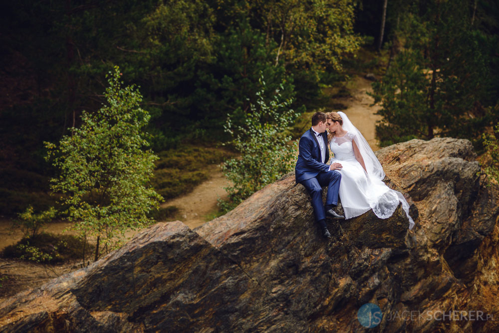 fotograf slubny lublin 094 - Gosia i Łukasz | Mumlavský vodopád