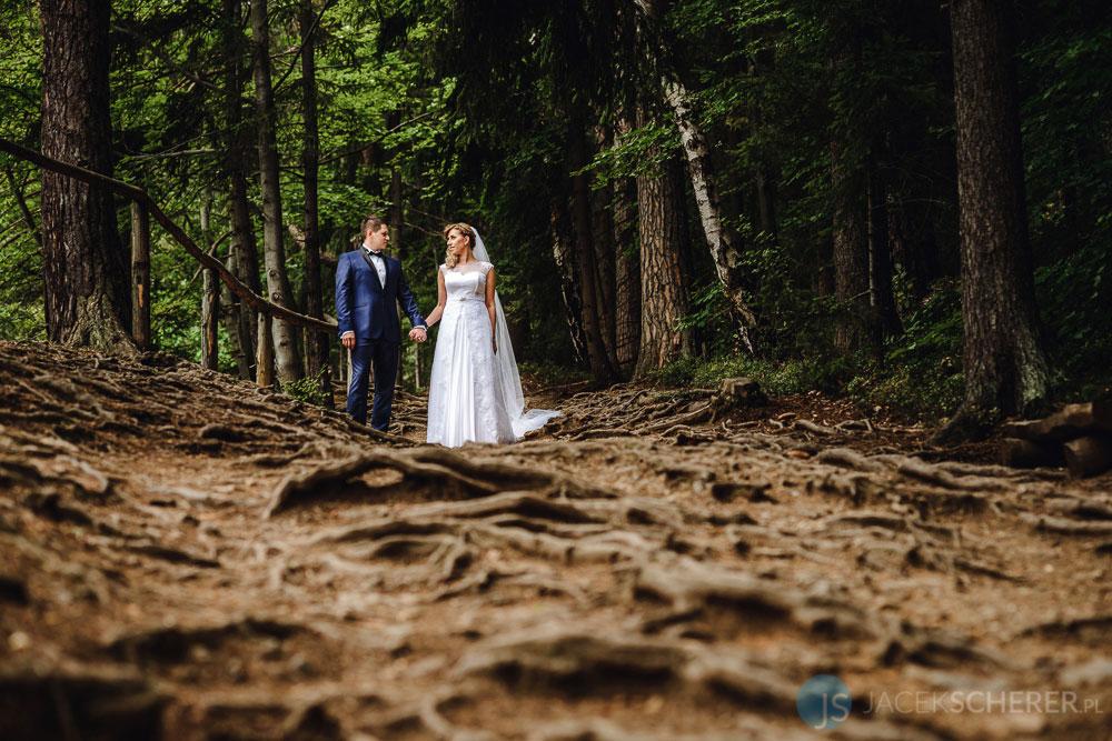 fotograf slubny lublin 100 - Gosia i Łukasz | Mumlavský vodopád