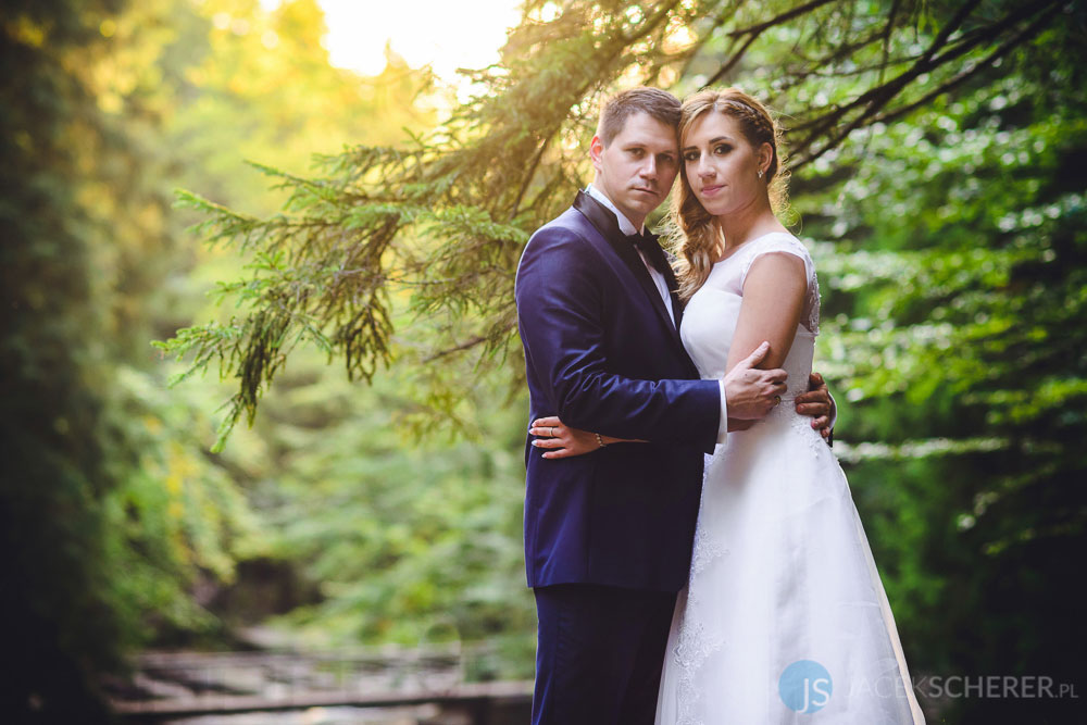 fotograf slubny lublin 111 - Gosia i Łukasz | Mumlavský vodopád