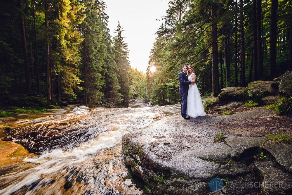 fotograf slubny lublin 112 - Gosia i Łukasz | Mumlavský vodopád