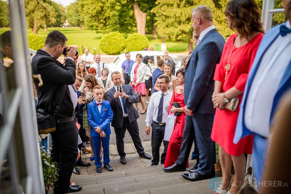 fotograf slubny warszawa 06 - Klaudia i Kamil | Ślub w Pałacu w Jabłonnie