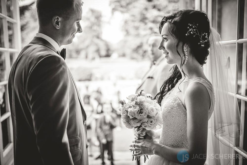 fotograf slubny warszawa 07 - Klaudia i Kamil | Ślub w Pałacu w Jabłonnie
