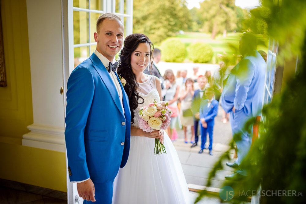 fotograf slubny warszawa 08 - Klaudia i Kamil | Ślub w Pałacu w Jabłonnie