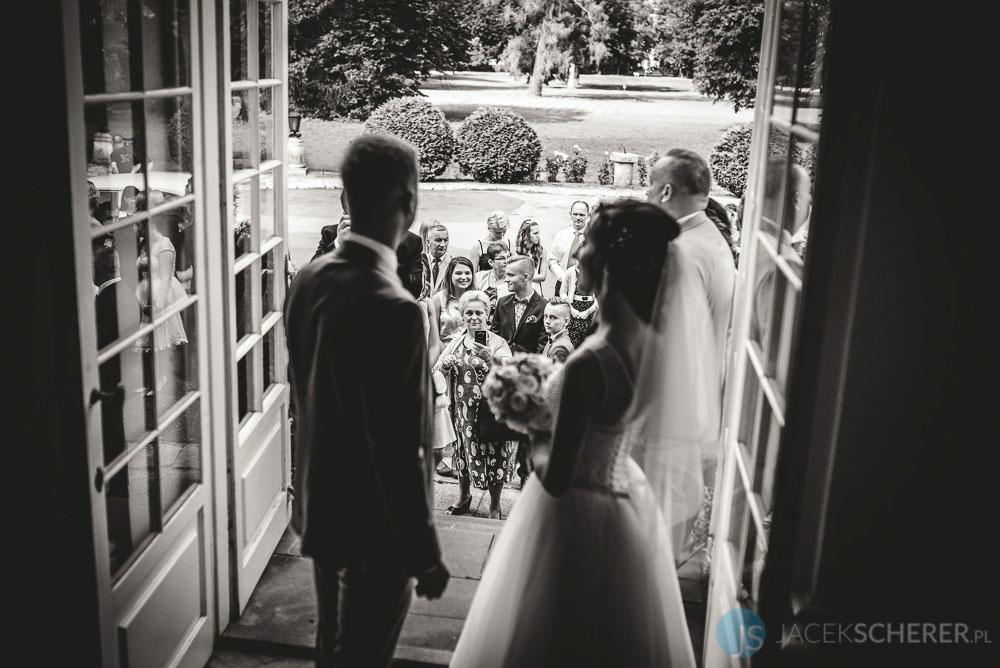fotograf slubny warszawa 09 - Klaudia i Kamil | Ślub w Pałacu w Jabłonnie