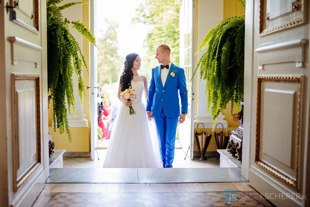 fotograf slubny warszawa 11 - Klaudia i Kamil | Ślub w Pałacu w Jabłonnie