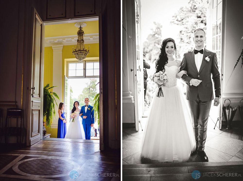 fotograf slubny warszawa 12 - Klaudia i Kamil | Ślub w Pałacu w Jabłonnie