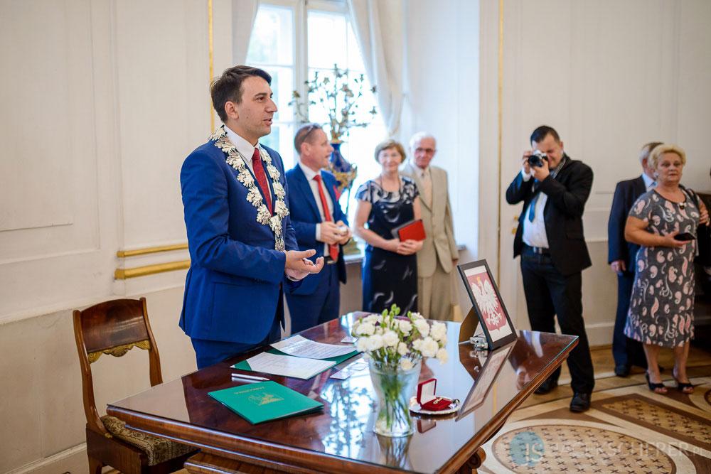 fotograf slubny warszawa 15 - Klaudia i Kamil | Ślub w Pałacu w Jabłonnie