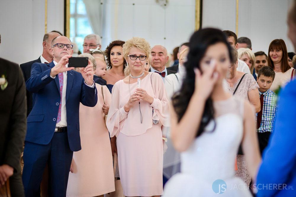 fotograf slubny warszawa 19 - Klaudia i Kamil | Ślub w Pałacu w Jabłonnie