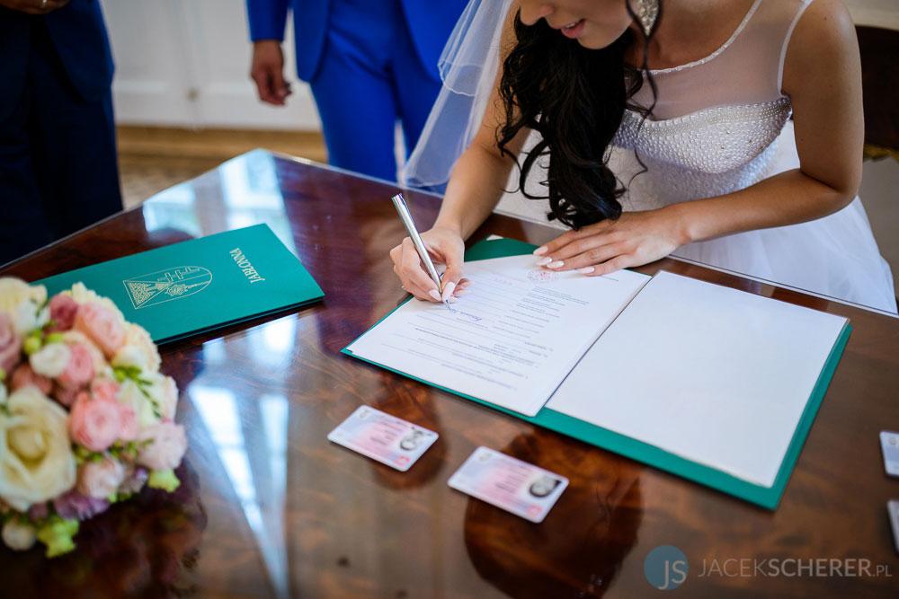 fotograf slubny warszawa 28 - Klaudia i Kamil | Ślub w Pałacu w Jabłonnie