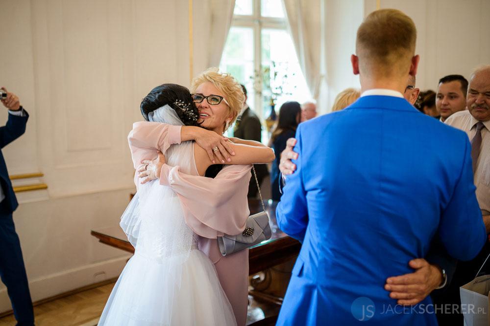 fotograf slubny warszawa 31 - Klaudia i Kamil | Ślub w Pałacu w Jabłonnie