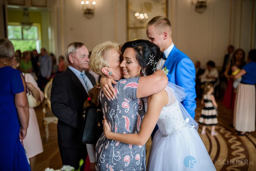 fotograf slubny warszawa 32 - Klaudia i Kamil | Ślub w Pałacu w Jabłonnie