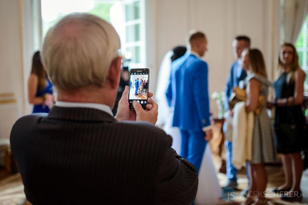 fotograf slubny warszawa 34 - Klaudia i Kamil | Ślub w Pałacu w Jabłonnie