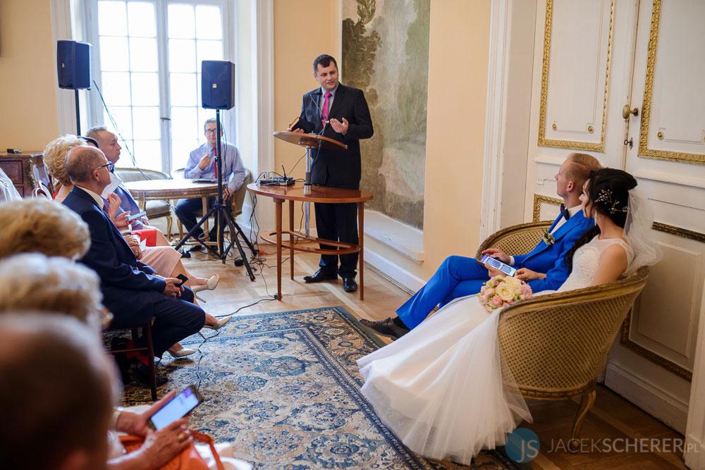 fotograf slubny warszawa 42 - Klaudia i Kamil | Ślub w Pałacu w Jabłonnie