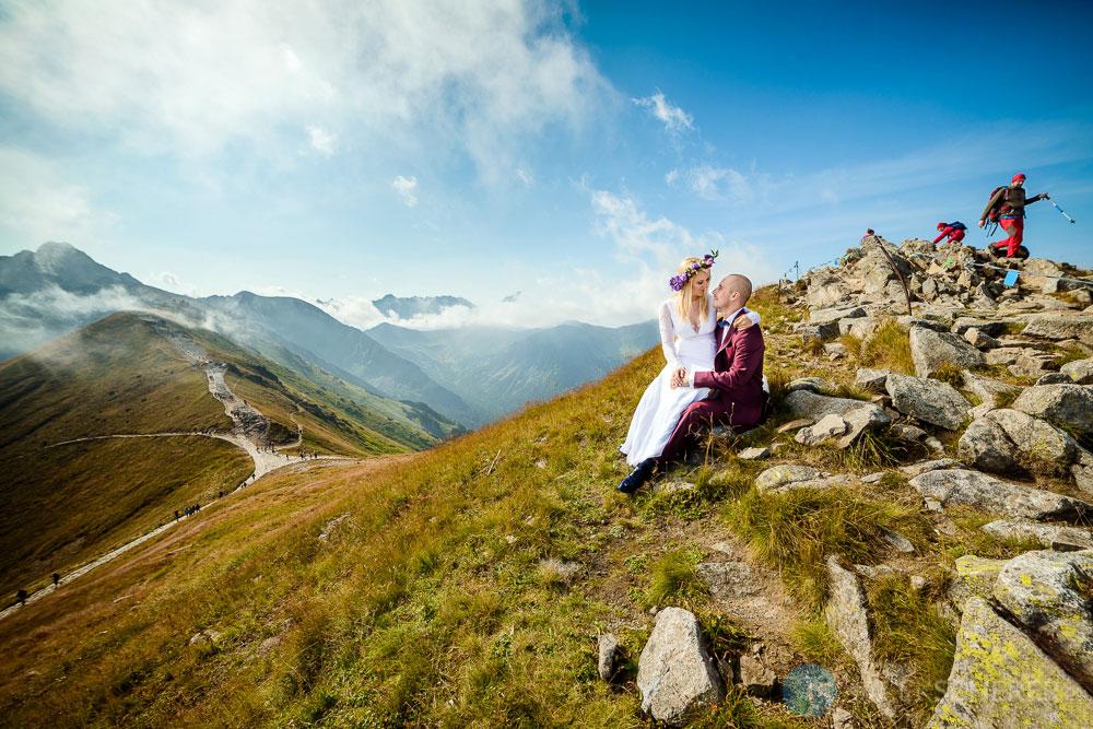 plener slubny tatry 01 - Kasia i Łukasz | Plener w Tatrach