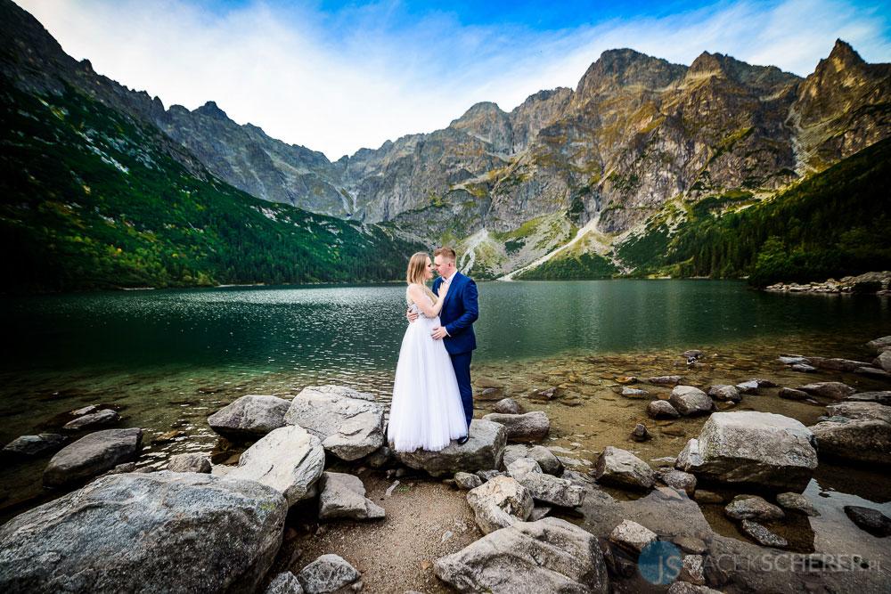 plener slubny tatry 04 2 - Ewelina i Mariusz | Morskie Oko